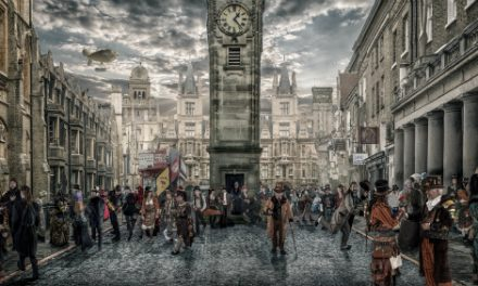 Steampunk photograph Gary Nicholls appearing at Timequake event