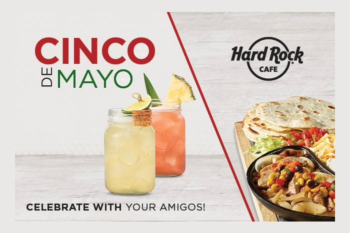 Manchester's Hard Rock Cafe launching Cinco de Mayo specials