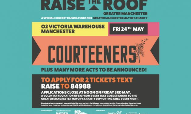 Courteeners leading huge charity gig for A Bed Every Night