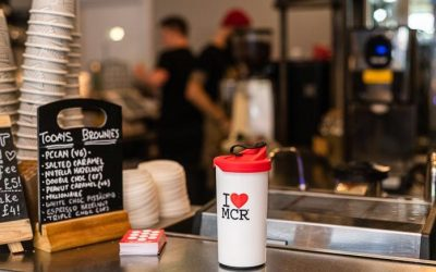 Manchester coffee shops join fight against single use plastics