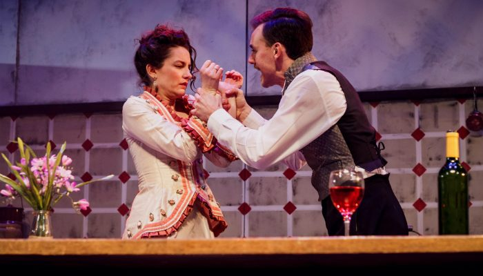 Miss Julie runs at Manchesters Hope Mill Theatre