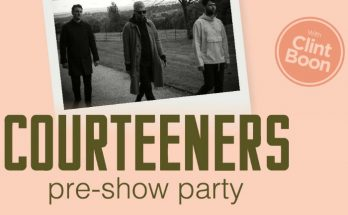 Courteeners pre show party at Pen and Pencil