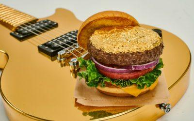 A 24-Karat Gold Leaf Steak Burger is coming to Manchester's Hard Rock Cafe