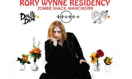 Rory Wynne announces Zombie Shack residency