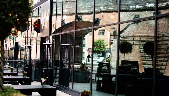 Wood Restaurant Manchester at First Street - image copyright Live Manchester