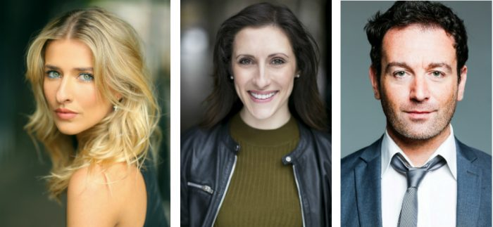 Georgina Castle, Lucinda Lawrence and Sean Needham will star in 9 to 5 The Musical