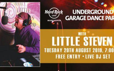 Little Steven Van Zandt coming to Hard Rock Cafe Manchester