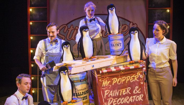 Manchester family - Mr Poppers Penguins at Waterside - image courtesy Helen Murray