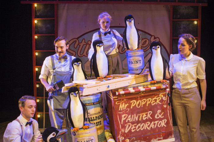Mr Popper's Penguins comes to Waterside at Christmas