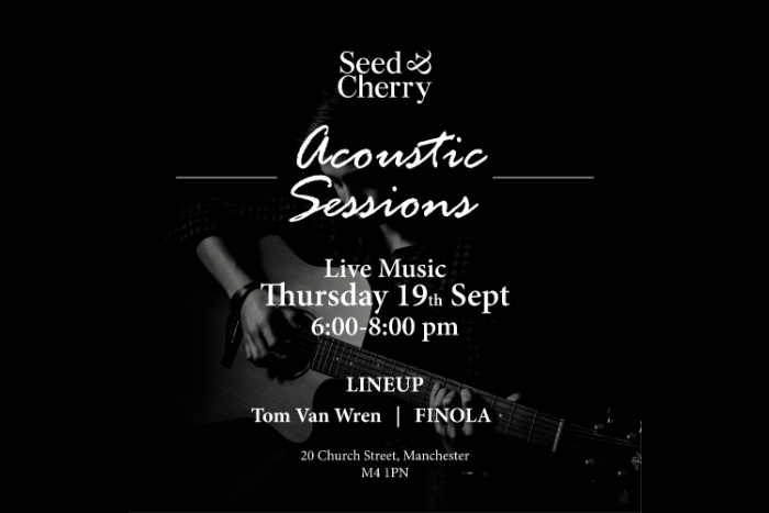 Seed & Cherry launch new acoustic night