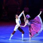 Katja Khaniukova and Jeffrey Cirio in Cinderella-in-the-round image courtesy Laurent Liotardo