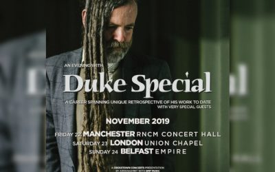 Previewed: Duke Special at Manchester's RNCM