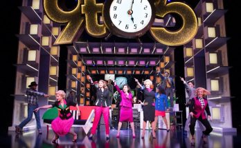 Manchester Theatre - 9 TO 5 THE MUSICAL staring Caroline Sheen, Amber Davies, Natalie McQueen and company - image courtesy Craig Sugden