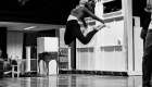 Alessia McDermott in rehearsals for Back to the Future the musical, credit Sean Ebsworth Barnes
