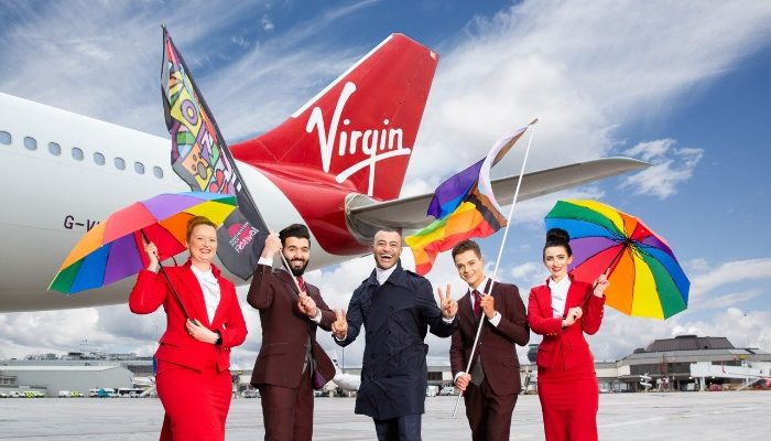 Manchester Pride Festival is sponsored by Virgin