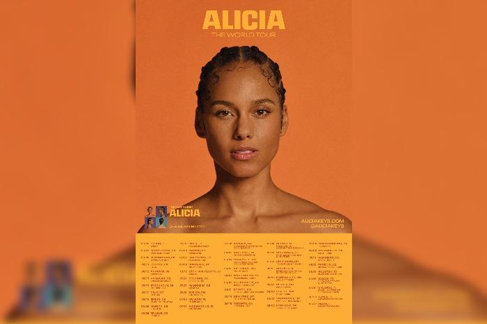 Alicia Keys announces UK tour dates including Manchester Arena