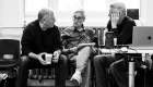 Robert Zemeckis and Bob Gale in rehearsals for Back to the Future The Musical, credit Sean Ebsworth Barnes