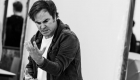 Roger Bart in rehearsals for Back to the Future The Musical, credit Sean Ebsworth Barnes