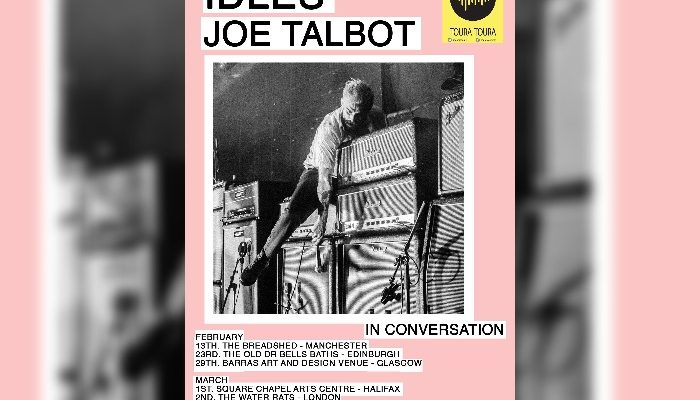 Idles Joe Talbot in conversation