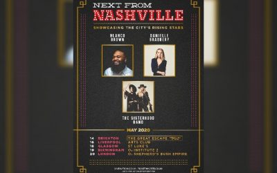 Further afield: Next From Nashville is heading to Liverpool