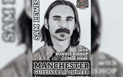 Nashville's Sam Lewis to headline at Gullivers