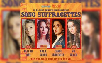 Manchester gigs - Song Suffragettes - Bellah Mae Kalie Shorr Candi Carpenter Vic Allen