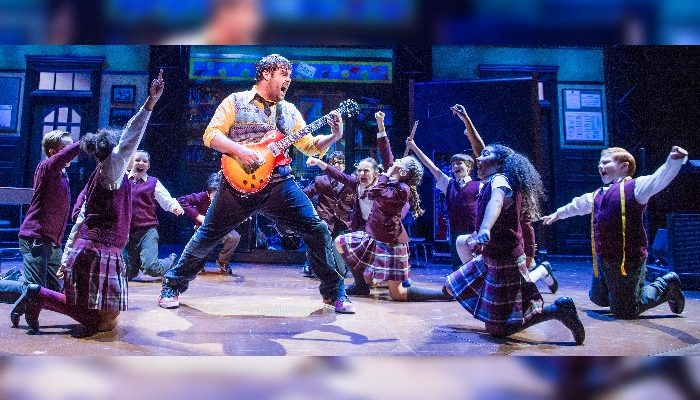 Manchester theatre - School of Rock