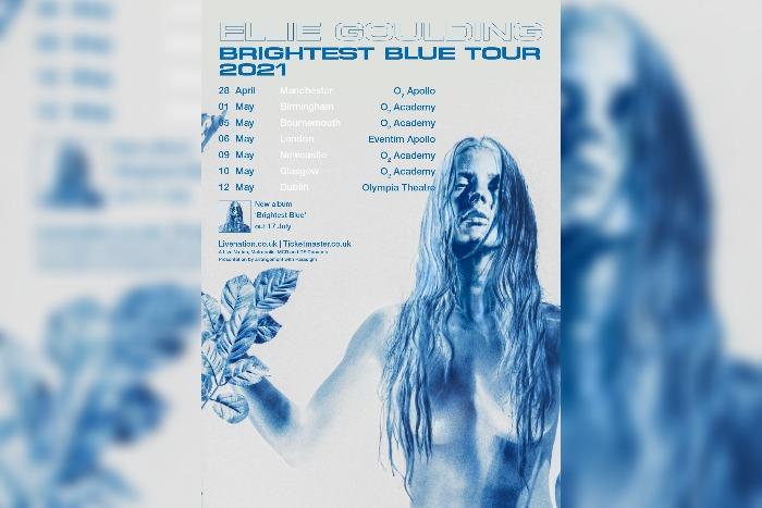 Ellie Goulding announces Brightest Blue Tour 2021