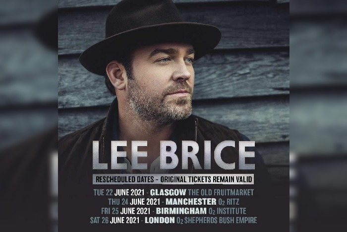 Lee Brice shares new video – headlines in Manchester in June