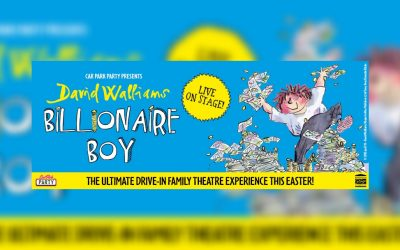 A Car Park Party production of David Walliams' Billionaire Boy coming to Manchester