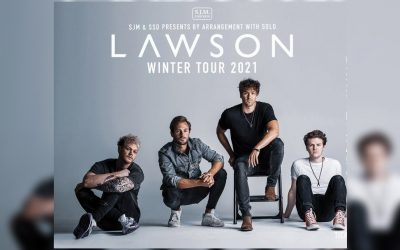 Lawson announce UK tour including Manchester Academy