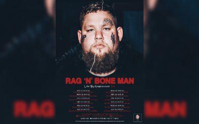 Rag'n'Bone Man announces UK tour including Manchester's Apollo