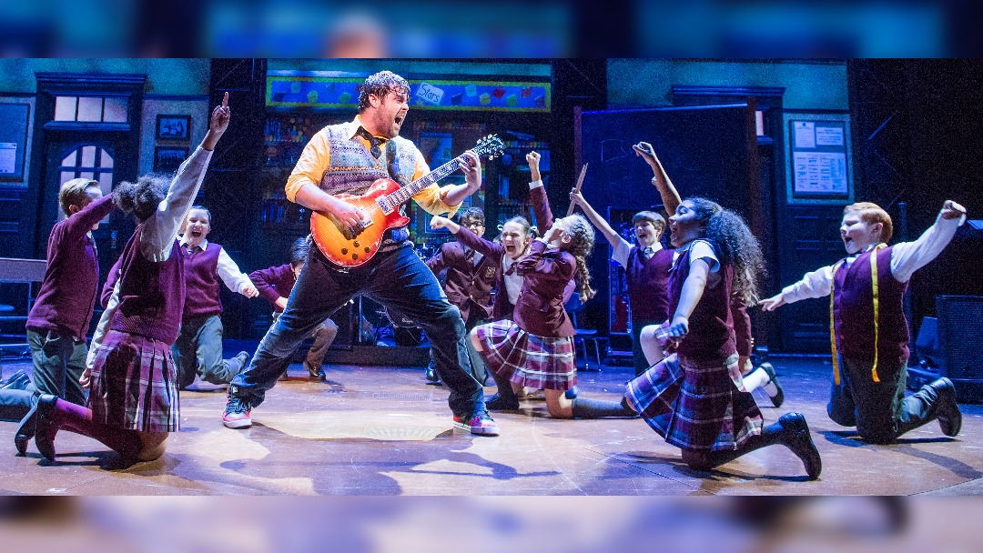 School of Rock heading to Manchester's Palace Theatre