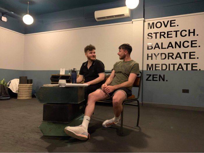 Manchester Theatre - Toxic stars Patrick Price and Joseph Gallogly